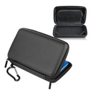 Wholesale Nintendo 3ds Hard Case - New Cool Black EVA Skin Carry Hard Case Bag Pouch For Nintendo 3DS LL