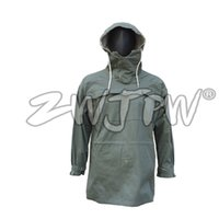 Wholesale WW2 WWII German Mouse Gray White Reversible Mountain Anorak Smock Outdoor Jacket Camping Hiking