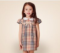 Wholesale New Summer Casual Style Striped Dress Children s Clothing Cute Baby Girls Dress Kids Princess Dress For Girl Vestido