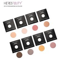 Wholesale Match Fixing - Brand HERES B2UTY DIY Fix Eyeshadow LongLasting Eyeshadow Daily Natural & Mineral Type Free Match