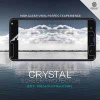 Wholesale Nillkin Screen Protector Wholesale - 2pcs lot Screen Protector For Asus Zenfone 4 Max Zc554kl NILLKIN crystal Film and Matte Scratch-resistant Protective Film For Zc554kl