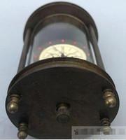 personalizar reloj al por mayor-Relojes mecánicos del reloj del oeste del latón campanas coleccionables personalizadas Relojes