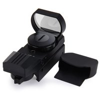 Wholesale Snipers Rifle Scope - 1 x 22 x 33 Hunting Holographic Reflex Red Green Dot Sight Scope 20mm Shockproof RifleScope for Sniper Rifle Shotgun