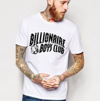 Wholesale Mens Hot Selling T Shirts - BILLIONAIRE BOYS CLUB t shirts for men BBC Hip Pop skateboard Mens tshirts Hot selling colorful Cotton Tops tshirts for men