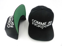 Wholesale Comme Des Fuckdown Red - 2017 latest Snapbacks hats 1pcs lot SSUR COMME des FUCKDOWN Snapbacks hats Basketball Snapback leopard strapback hat Basball snapback caps