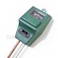 Wholesale Moisture Tester For Soil - Wholesale- 3 in 1 PH Soil Tester Water Moisture Test Light Meter for Garden Plant Flower