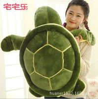 Wholesale Turtle Cute Doll - Wholesale- 50cm Cute Green Sea Turtles   Tortoise cushion pillow Plush Toys,NICI Turtle Plush Toys doll for kids gift