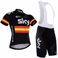 0cb32e06 SKY 2017 Tour de France Team Cycling Jerseys Set Tour Road Racing Champion Bicycle  Wear Jersey bib shorts Cycling Clothes ...