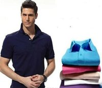 Wholesale Long Sleeve Polyester Polo Shirts - Casual Polo Shirt Men Fashion Crocodile Embroidery LOGO Long-Sleeve Men's Polos New Arrival Fashion Brand Polo Shirts Man Hot-Sale Slim Polo