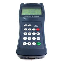 Wholesale Ultrasonic Water Sensor - Wholesale- portable ultrasonic flowmeter water digital flow meter sensor counter indicator flow device caudalimetro DN15-100mm DN50-700mm
