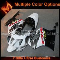 honda vtr sp2 обтекатели оптовых-23 цветов + 8gifts белый мотоцикл чехол для HONDA RC51 VTR1000SP1 2000-2006 VTR 1000SP1 00 06 кузовной комплект ABS пластик обтекатель