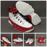 2017 Air Retro 9 Man Chaussures de basket-ball Chaussures de sport White Red Men OG Space Jam Bred Pantone Bright Mango Tour Yellow Lakers PE