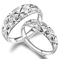 Wholesale women ring designs resale online - Couple Rings Silver Plated Design Rings for Women Sterling Silver Plated Jewelry Fashion Ring Jewelry Christmas Gift