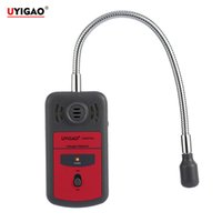Wholesale Halogen Gas Detector - Wholesale- UYIGAO Brand New Handheld Portable Automotive Mini Halogen Gas Leakage Detector Chlorine Fluorine Tester with Sound-light Alarm