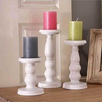 Wholesale Christmas Decoration Metal - New arrival Romantic Candlestick Candlelight Dinner Items Furnishing Articles Table Ancient Ways Wedding Candle Holders Home Decor