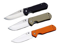 Wholesale Black Top Tools - Top Funtion Sanrenmu Land 910 Plus Pocket EDC Keychain Folding Knife Tool 440 Blade Black G10 Handle Camping Tactical Gear B205L