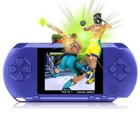 Wholesale Mini Radios Hot Colors - Hot Game Player PXP3(16Bit) 2.5 Inch LCD Screen Handheld Video Game Player Console 5 Colors Mini Portable Game