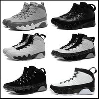 Wholesale Hot Johnny - hot new 9 9 Copper Statue Anthracite Baron Charcoal Johnny Kilroy men basketball shoes 9s cheap sports sneakers US size 8-13