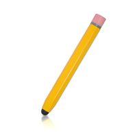 Wholesale Conductive Pen Ipad - Retro 9.5cm Metal Hexagonal Pencil Stylus Pen for iPad iPhone Samsung Tablet PC Smart Phone Conductive Fibers Capacitive Pen