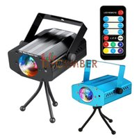 Wholesale Auto Dimmable - Auto Music Flasf LED Stage Light Dimmable 7 in 1 9W RGB LED Water Ripples Lights AC 110-240V