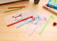Wholesale File Storage Case - Sweet cartoon Lazy Sumikko Gurashi PVC Waterproof small Pencil Bag Stationery Storage Organizer Bag School Supply Student Prize