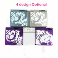 Wholesale Mario Game Console - For Super Mario Limited Edition Shell Housing Cover for GBA SP Best Cheap Clorful Full Housing Cover Case Replacement Parts for Game Shell