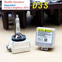 Wholesale D3s Bulb - New D3S 6000K HID Xenon Bulbs Auto Headlight 12V 35W D3S HID Bulb Car 12V D3S Xenon Bulb Light