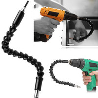 Wholesale Electric Garden Tools - 290mm Flexible Shaft Bits Extension Screwdriver Bit Electric Drill Power Tool Accessories