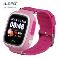 Wholesale Children Safety Alarm - TD02 GPS children watch for kids safety Smart watch anti take off SMS alarm 2017 best phone watch