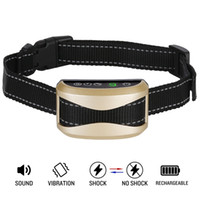 Wholesale Shocking Collars For Dogs - Bark Collar Casfuy Upgrade 7 Sensitivity Rechargeable Humane Dog No Bark Collar with Vibration and No Harm Shock for Small Medium Large Dog