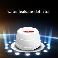wireless alarm systems achat en gros de-Nouvelle arrivée Détecteur de fuite d'eau, capteur de fuite d'eau 433HZ 315MHZ, capteur d'inondation d'eau sans fil pour systèmes d'alarme de sécurité pour la maison