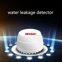 ingrosso allarme 315mhz-Nuovo rilevatore di perdite d'acqua di arrivo, sensore di perdita d'acqua 433HZ 315MHZ, sensore di allagamento dell'acqua wireless per sistemi di allarme di sicurezza domestica