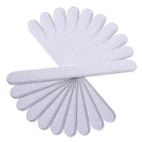 Wholesale grey nail tips - Wholesale- CLAVUZ 3 Pieces Nail Files Grey Sanding Nail Files Tools For Salon UV Gel DIY Tips Pedicure Tool Nail Art Manicure Set