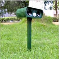 kuş ürünleri toptan satış-ABS Güneş Enerjisi Ultrasonik Sinyalleri Kovucu Açık Kuş Fare Expeller Yeşil 2016 Sıcak Satış Yeni Gardent Ürün