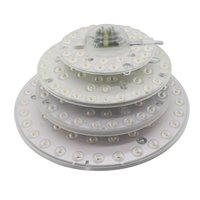 Wholesale module panel for sale - 12W W W W LED Module Ceiling Light SMD2835 V V LED Panel Circle Light Lamp Round Ring LED Panel Board with Magnet