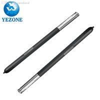 Wholesale Telephones Galaxy - Wholesale-5pcs lot Replacement Parts For Samsung Galaxy Note 3 Note iii N9000 N9005 S-Pen Mobile telephone Pen Stylus Touch Pen Canetas
