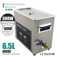 Wholesale Ultrasonic Glasses Cleaner - Smart Digital Ultrasonic Cleaner Wash Bath Stainless Tank Baskets 3L 120W 6L 180W 40KHz Ultrasound For Jewelry Glasses Watches Dental