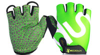 Wholesale BOODUN Cycling Gloves with Shock absorbing Foam Pad Breathable Half Finger Bicycle Riding Gloves Bike Glove