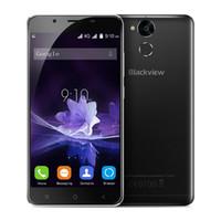 Wholesale P2 Video - Blackview P2 4G Lte Mobile Phone 5.5 inch FHD Screen Cellphone Octa Core Android 6.0 4GB RAM 64GB ROM 13MP 6000mAh Fingerprint ID Smartphone