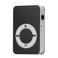 1 microfone de cartão venda por atacado-Atacado - 2016 New Arrival Portátil Mini Mp3 Player Mini USB Digital Mp3 Music Player Suporte 8GB Micro SD / TF cartão lettore mp3 #UO