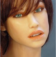 Wholesale Silicon Sex Machine - silicon sex doll japanese skelet, sex machine ,Doggie-style life size head realistic best adult