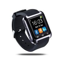 u8 reloj inteligente para windows phone al por mayor-Bluetooth u8 Reloj inteligente Reloj de pulsera U8 Reloj Reloj inteligente Deportes Relojes de pulsera para iPhone Teléfono inteligente Samsung Android