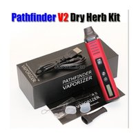 Wholesale Dry Herb Wholesale - Dry Herb Vaporizer Pathfider Vape Pens Pathfinder Starter Kit 2200mAh Temperature Control From 200-600F DHL fast free shipping