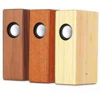 Creative Wood Induction Lautsprecher Freier Klangverstärker Wooden Wireless Lautsprecher Portable Stereo Lautsprecher Hölzerne Magic Induction