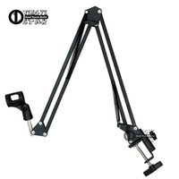 Broadcast Studio Support de microphone Support de microphone de bureau Clamp Boom Shock Mount Support de pare-brise pour ordinateur portable Enregistreur pour ordinateur portable Mixeur vidéo Audio