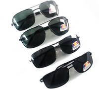 Wholesale Framing Driver - New Brand Designer Men Photochromic Sunglasses Driving Driver Polarized Sunglasses Goggles Metal Glasses