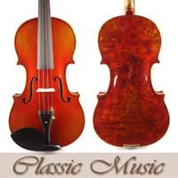 Wholesale Ebony One Piece - Wholesale-Bird Eyes Stradivarius Violin,NO.2342. Beautiful One Piece Back, Sweet Sound, Handmade Antique, Hand Oil Varnish