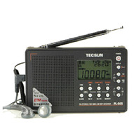 Wholesale Tecsun Radio Digital Portable - Wholesale-TECSUN PL-505 Digital PLL Portable Radio FM Stereo LW SW MW DSP Receiver