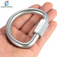 Wholesale Delta Wing - Quick Link Locking Carabiner Hanging Hook Buckle for Delta Wing D Ring Clip Carrying Gear Lock Buckle Hook Camping Equipment