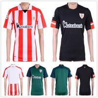 Wholesale Quality Custom Homes - Thai Quality Athletic Bilbao Football Jersey SUSAETA GURPEGUI MUNIAIN ADURIZ KIKE SOLA ITTURASPE DE MARCOS Custom Home Away Soccer Shirt